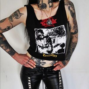 Hell Couture King Diamond Conspiracy Top